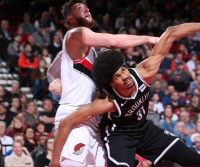 Russell stars as Nets fade in wild double-overtime loss to Blazers