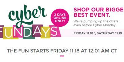 Ulta Cyber Fundays 2016 | November 18th and 19th, 2016