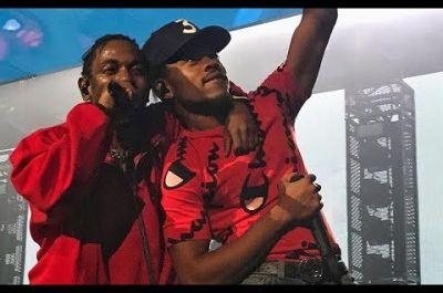"""Kendrick Lamar Brings Out Chance The Rapper During """"Damn Tour"""" Stop In Chicago"""