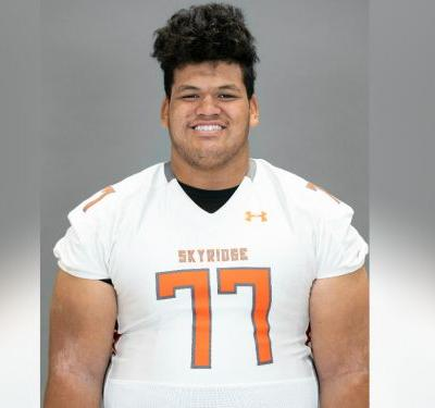 Skyridge star center Logan Sagapolu plans to choose between BYU, Utah and Oregon during Polynesian Bowl