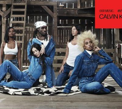 Our Music: The New Calvin Klein Jeans Campaign Stars Stars Solange