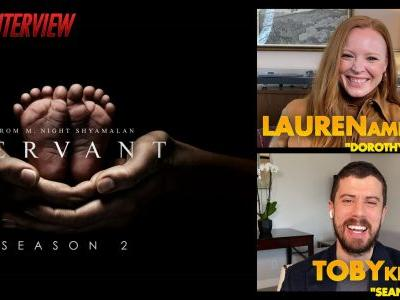 CS Video: Servant Season 2 Interview With Ambrose & Kebbell