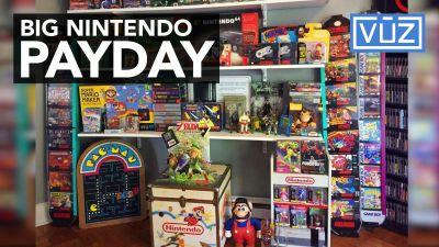 Man paid a bundle for Nintendo collection