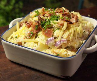 How to Cook Fully Loaded Baked Potato Salad