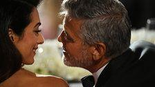 Amal Clooney Gushes In AFI Speech About Early Romance With George
