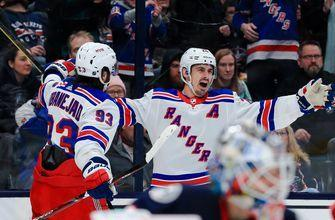 Injury-ravaged Blue Jackets fall to Rangers 3-1 for fourth straight loss