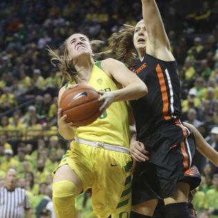 Ionescu helps No. 3 Oregon beat No. 9 Oregon St 77-68