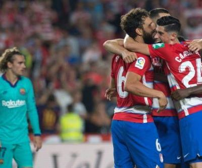 Barcelona's poor start continues with surprise defeat by Granada