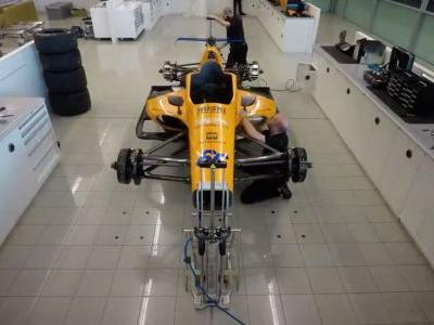Watch This Amazing Time-Lapse Of McLaren Building Alonso's IndyCar