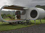 The £270k Romotow trailer that extends and rotates to reveal a party deck