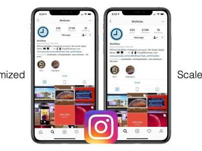 Instagram Is Now Optimized For The iPhone XR, iPhone XS Max Again