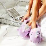 These Heated Unicorn Slippers Are What Every Couch Potato Needs - Your Feet Will Be Toasty!