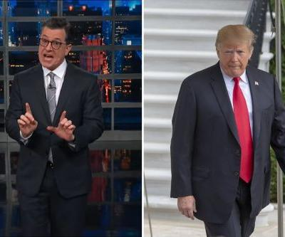Stephen Colbert Rips Donald Trump For Cancelling White House Christmas Party