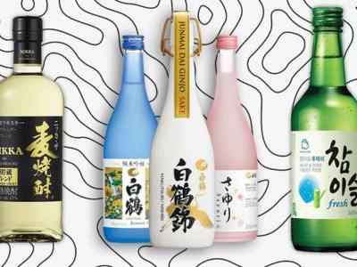 The Differences Between Soju, Shochu, and Sake, Explained