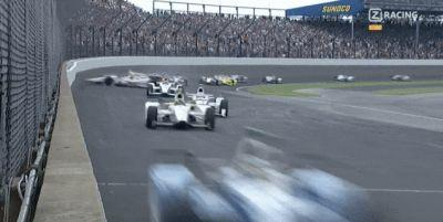 Huge Indy 500 Wreck Somehow Only Eats Five Cars