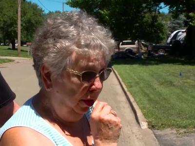 'I can't believe it's gone': Iowa resident surveys damage after home devastated by flooding