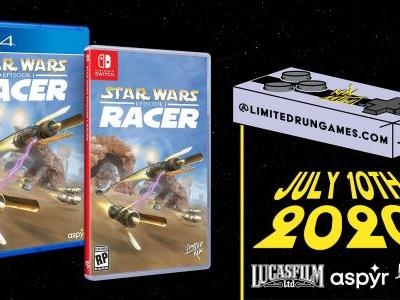 Limited Run's classic edition of Star Wars Episode I: Racer is heavy on N64 nostalgia