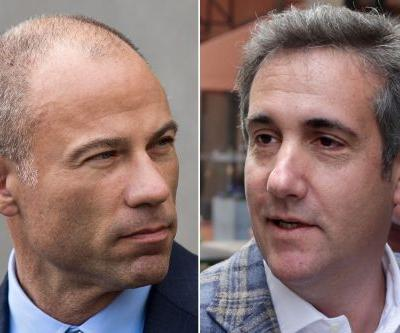 Rivals Cohen and Avenatti run into each other at UES restaurant