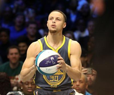 Stephen Curry on 3-point contest loss: 'I give myself an A for effort'