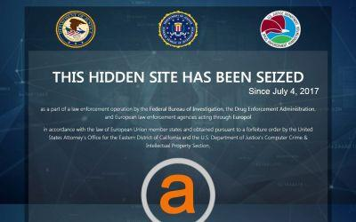 AlphaBay: US Government shuts down world's largest dark web market