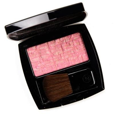 Chanel Tweed Pink Les Tissages de Chanel Blush Duot Review & Swatches