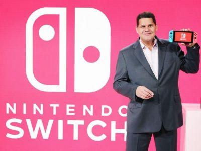 Reggie Discusses Switch Launch Line-Up