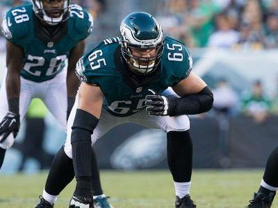 Eagles' Lane Johnson looking to dethrone 'pretty boy Tom Brady,' Patriots
