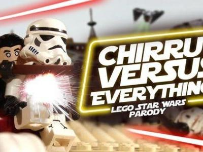 Chirrut Vs. Everything in Rogue One LEGO Parody