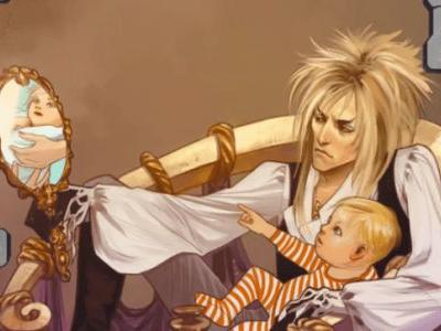 A 'Labyrinth' Origins Comic Book Will Remind You of the Babe, Jareth the Goblin King
