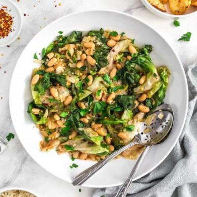 Italian Greens and Beans