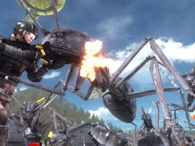 Earth Defense Force 5's insects invade on December 11
