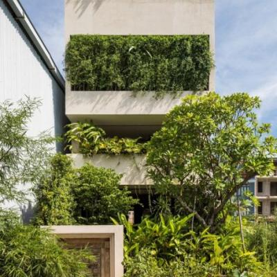 MM Tropical Suburb Town House / MM++ architects