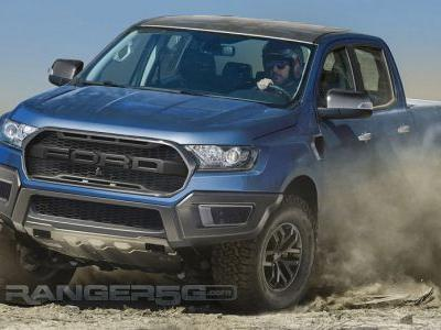 Please Let The Upcoming Ford Ranger Raptor Look Like This