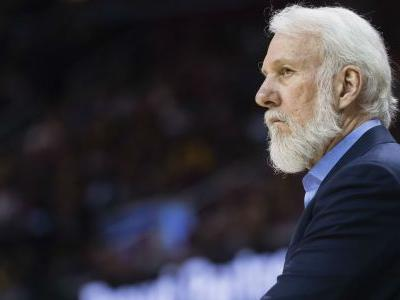 Spurs coach Gregg Popovich will not return for Game 4
