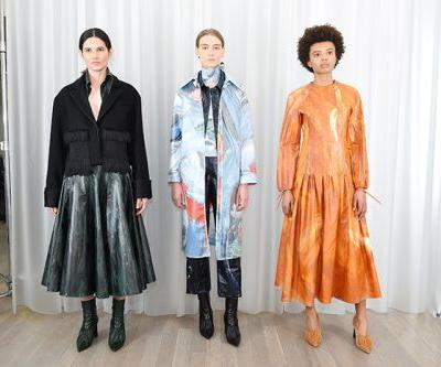 Xu Zhi Fall 2018: London Fashion Week