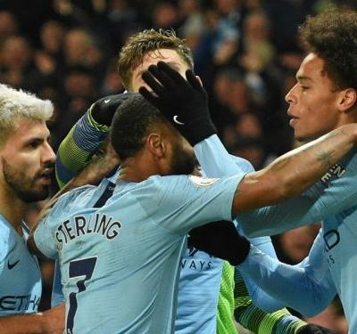 Aguero and Sane's individual brilliance the difference as Man City reopen title race