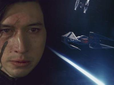 Kylo Ren's Last Jedi TIE Fighter Was Changed Because Of A Toy