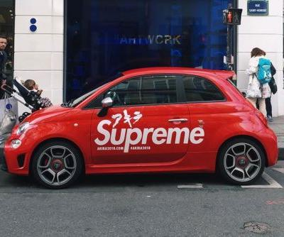 'Akira' x Supreme Car Spotted in Front of Colette Paris