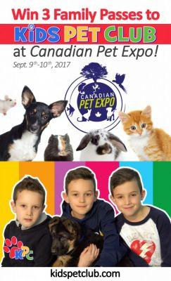 Awesome New Family Pass Giveaway to Fall Canadian Pet Expo