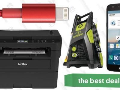 Monday's Best Deals: Laser Printer, Lightning Cables, Memorial Day Sales, and More
