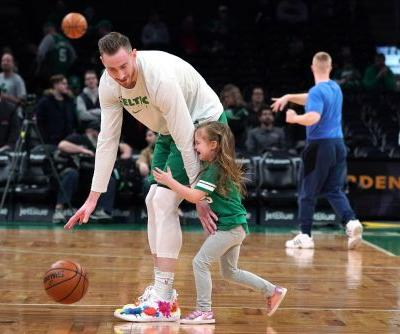 Boston Celtics' Gordon Hayward will leave NBA bubble if his wife goes into labor during playoffs