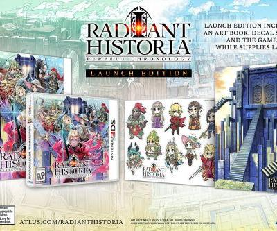 Radiant Historia: Perfect Chronology Gets Launch Edition and Date