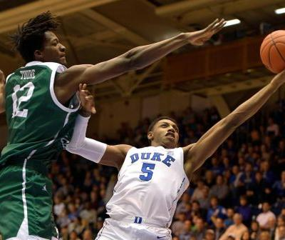 Duke celebrates top ranking by pounding Eastern Michigan
