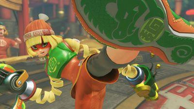 Arms first week sales in Japan rivals Tekken 7's and Street Fighter 5's, selling over 100k units