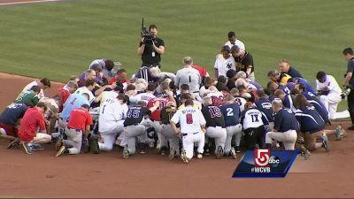 Lawmakers take part in emotional congressional baseball game