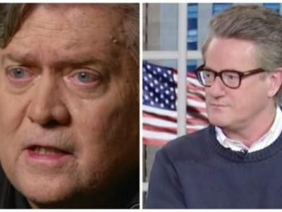 Steve Bannon Mocks Scarborough's College Education During Moore Rally