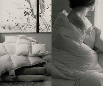 Tekla Is Making Bedtime Beautiful With Goose Down Collection
