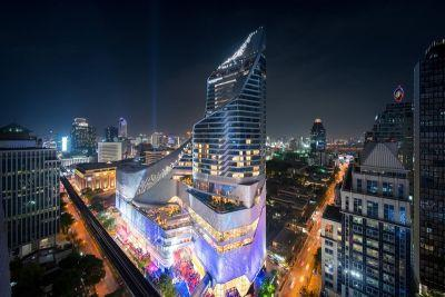 Central Embassy Bangkok Is Completed With 3D Curved Infinity-Inspired Architecture