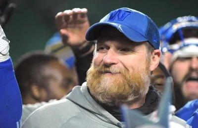 Blue Bombers re-sign head coach Mike O'Shea to new 3-year contract