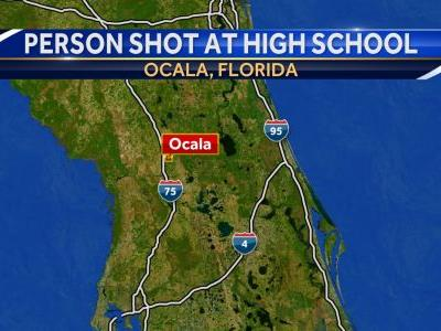 Person shot at Florida high school; suspected shooter in custody, deputies say